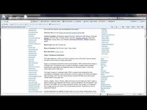 Kroger Job Application Online - YouTube