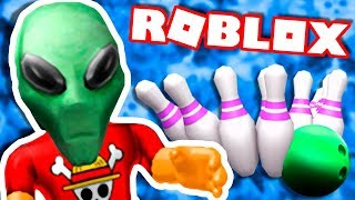 The ALIEN BERSERKER INVADED bowling → Roblox funny moments #113 🤣🎮