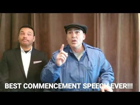 BEST COMMENCEMENT SPEACH EVER!!