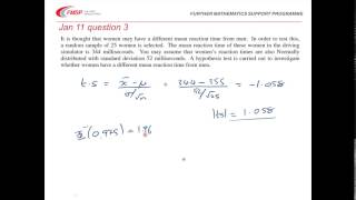 FMSP Revision Video: MEI S2 - Normal Distribution