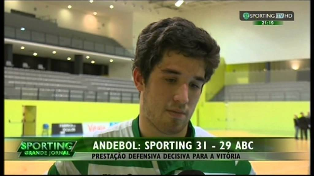Andebol :: 18J :: Sporting - 31 x ABC - 29 de 2014/2015