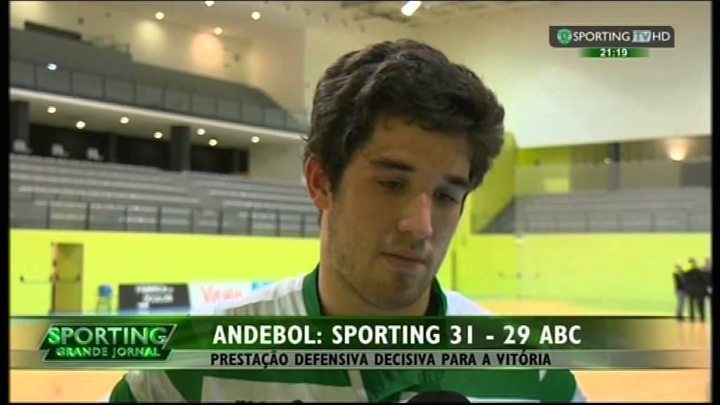 Andebol :: 18J :: Sporting - 31 x ABC - 29 de 2014/2015