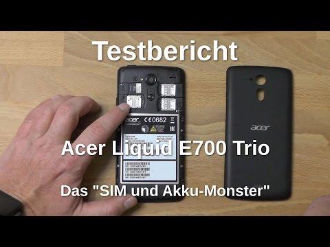 Acer Liquid E700 - Testbericht des SIM- und Akku-Monsters - www.technoviel.de