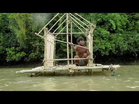 Primitive Technology, Making Primitive River House