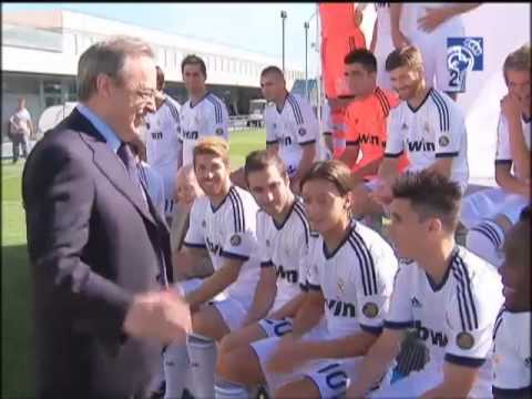 The making of the Real Madrid 2012/2013 official photo