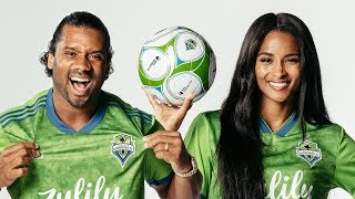 Ciara and I part of the Seattle Sounders Ownership Group!!