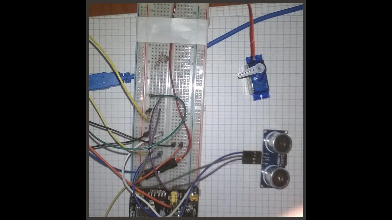 Servo motor angular position control system with for Servo motor position control system