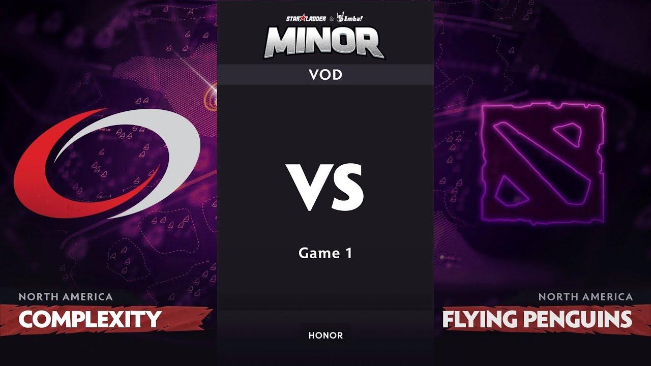 [RU] compLexity vs Flying Penguins, Game 1, NA Qualifiers, StarLadder ImbaTV Dota 2 Minor