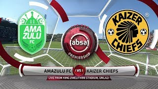 Absa Premiership 2019/20 | AmaZulu v Chiefs | Highlights
