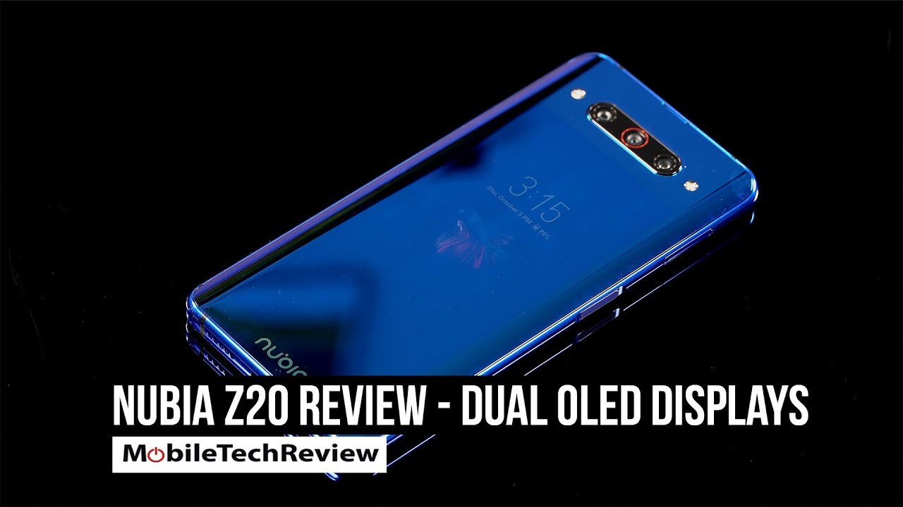 Nubia Z20 - Dual OLED Screen Android Phone Review