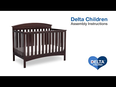 Delta Children Abby 4-in-1 Crib Assembly Video