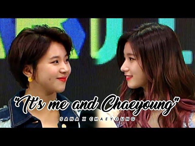 sachaeng | sana: its me and chaeyoung