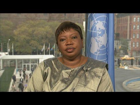 """Fatou Bensouda : """"La CPI n'est pas en crise"""""""