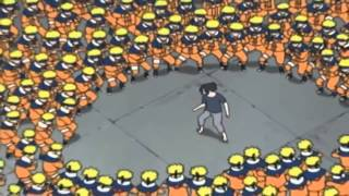 naruto vs sasuke at hospital full fight english dub