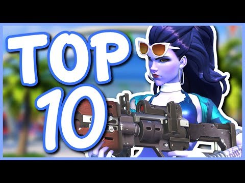 Overwatch - TOP 10 BEST SUMMER GAMES SKINS