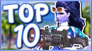 Overwatch - TOP 10 BEST SUMMER GAMES SKINS