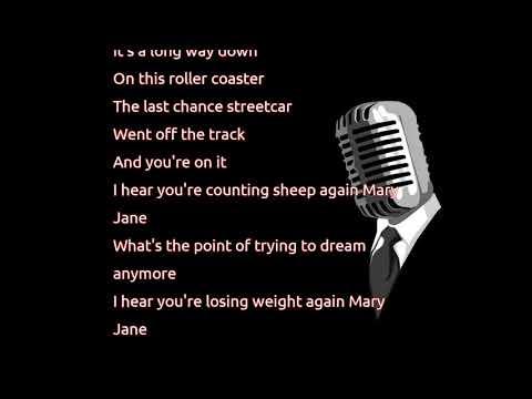 Alanis Morissette - Mary Jane (lyrics)