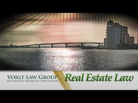 Real Estate Law | Voigt Law Group Sarasota FL