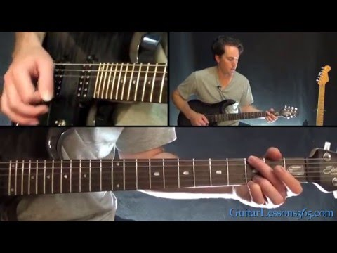 Bullet with Butterfly Wings Guitar Lesson  The Smashing Pumpkins