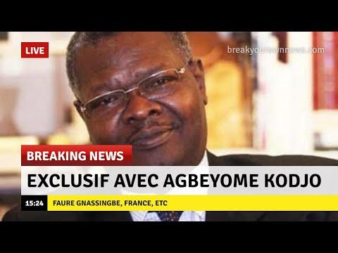 Togo Debout :  Agbeyome Kodjo parle - Ecoute attentivement