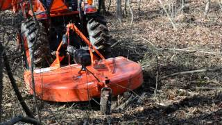 Clearing Land - Bush Hog Rotary Cutter