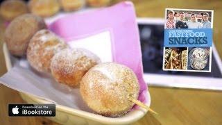 Doughnut Kebabs Recipe: Fast Food Snacks
