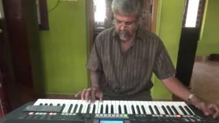 mein duniya bula doonga-aashqui, on keyboard with karaoke