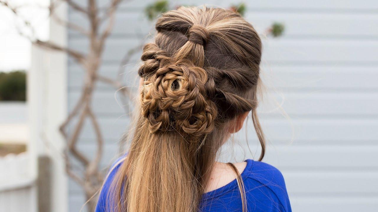 flower-half-up-hairstyle-tutorial-cute-girls-hairstyles