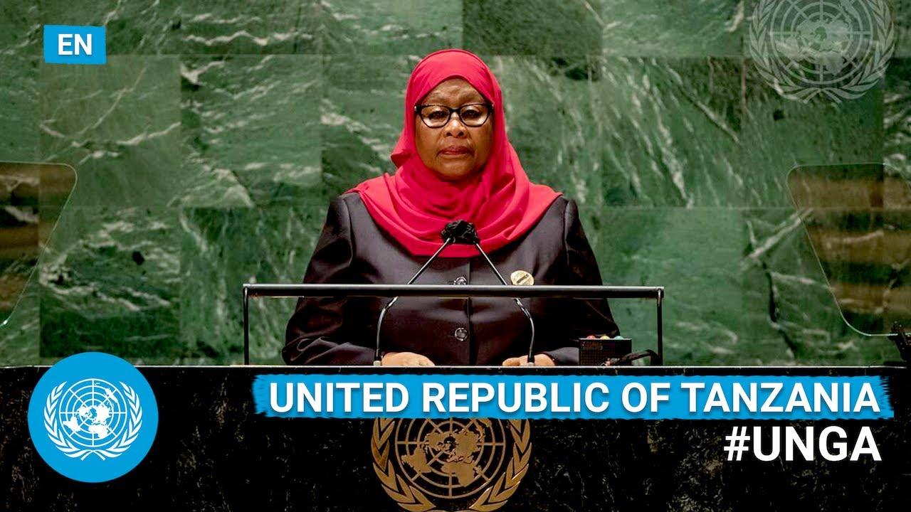 Download 🇹🇿  Tanzania - President Addresses United Nations General Debate, 76th Session (English)   #UNGA