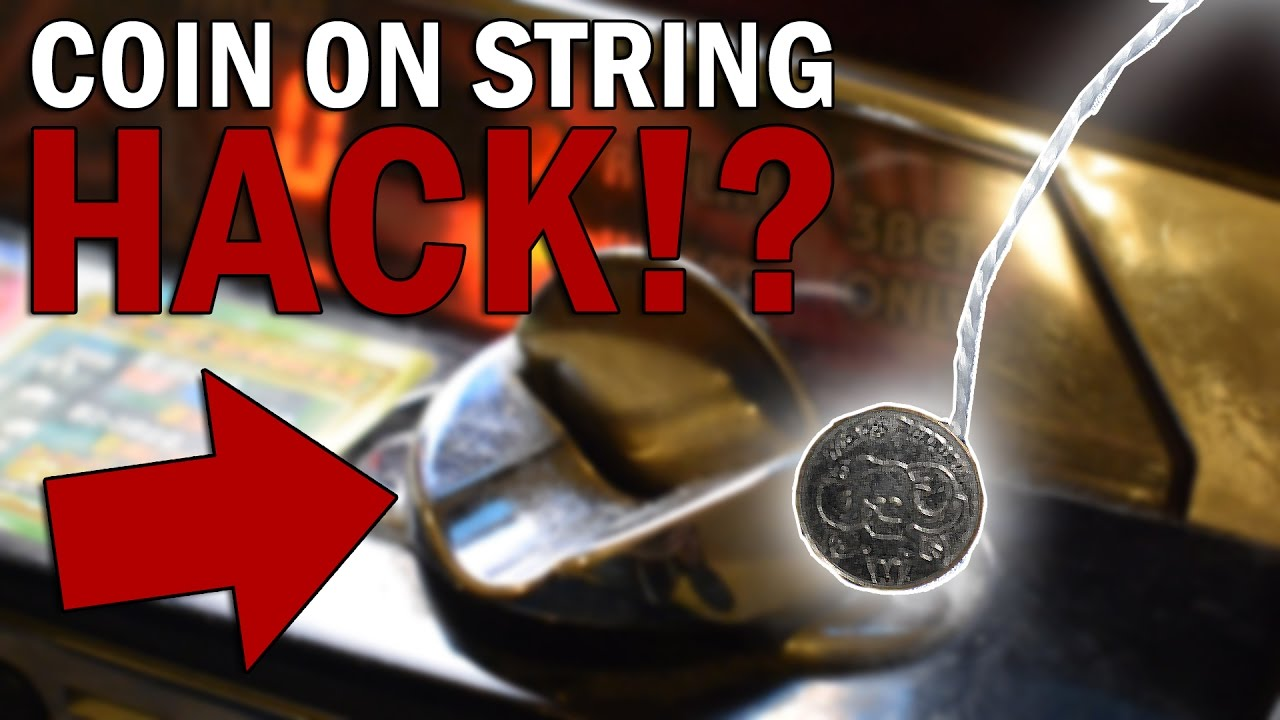 hacking an arcade machine with a coin on a string will it work youtube. Black Bedroom Furniture Sets. Home Design Ideas