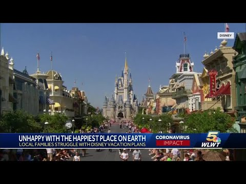 Rescheduling Disney vacations canceled by COVID has some grumpy and losing money