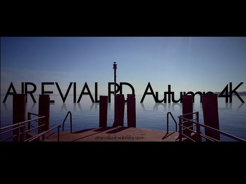 Air Evilard AUTUMN IN 4K | LAKE NEUCHÂTEL
