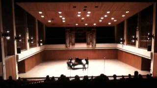 Adam Frey at UT Austin Bates Recital Hall