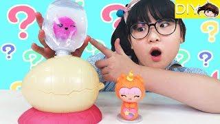 【DIY】這是什麼奇怪的蛋?軟軟公仔製造器[NyoNyoTV妞妞TV玩具] thumbnail