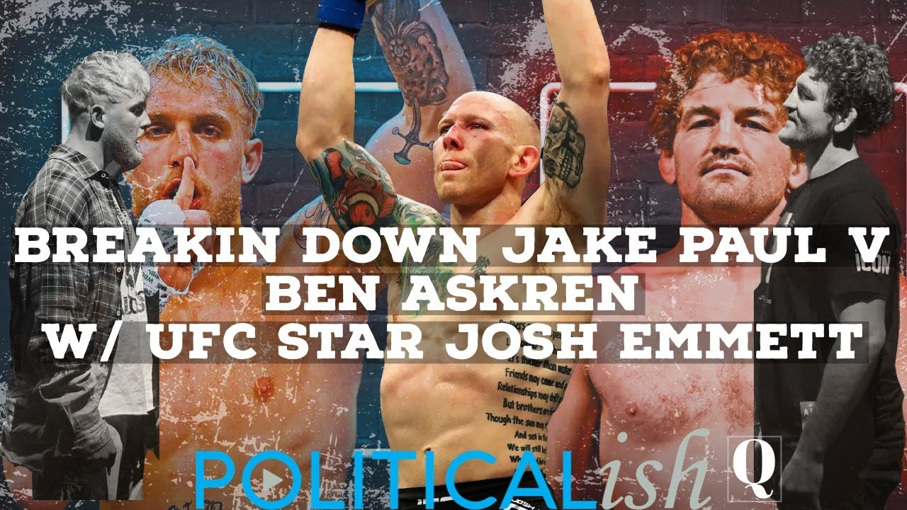 Breakin Down Jake Paul V. Ben Askren w/ UFC Star Josh Emmett
