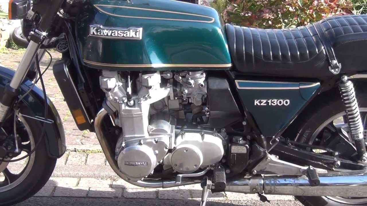 Kawasaki Z1300 - YouTube