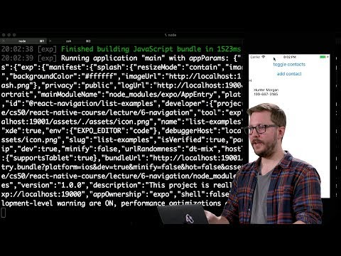 navigation---lecture-6---cs50's-mobile-app-development-with-react-native