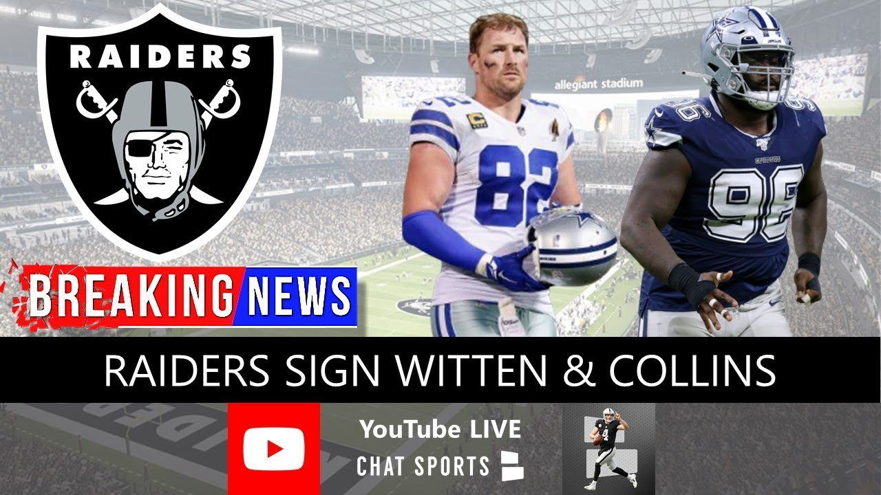 Jason Witten Signs One-Year Deal With The Las Vegas Raiders