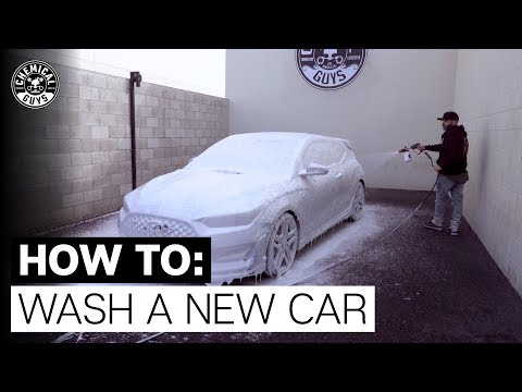 How To Wash & Dry A Brand New Car! - Chemical Guys