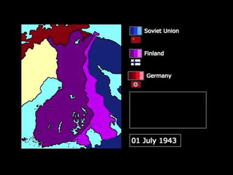 [Wars] The Continuation War (1941-1944): Every Month