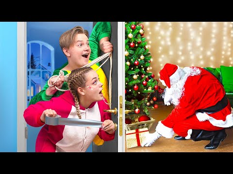 How to Catch Santa / 14 Funny Christmas Situations