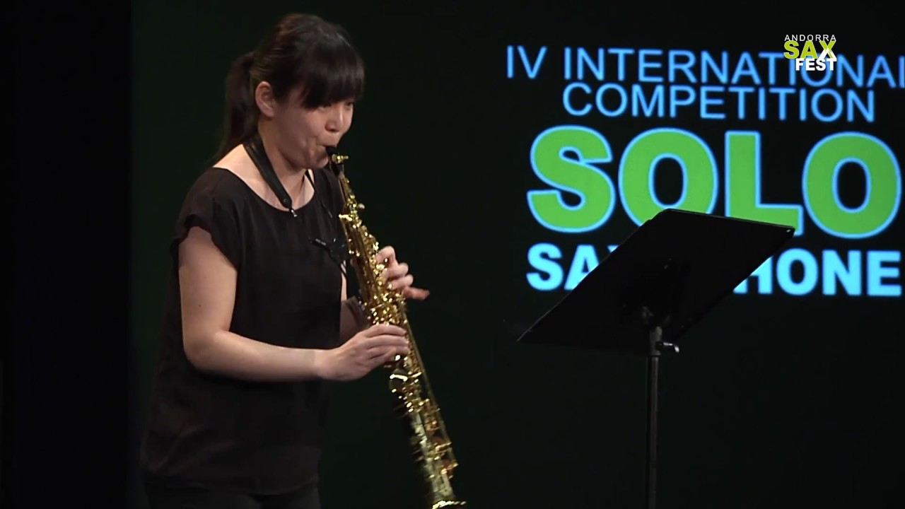 ERI TSUCHIDA - FIRST ROUND - IV ANDORRA INTERNATIONAL SAXOPHONE COMPETITION 2017