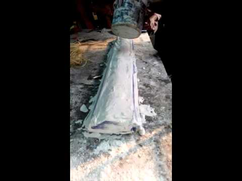 Gypsum Cornice Strip Making,Dhaka Bangladesh PART 1  ঢাকা বাংলাদেশ , জিপসাম  কানিশ স্টীপ তৈরী