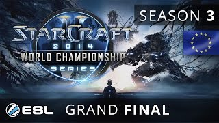 MMA vs. YoDa (TvT) - Grand Final - WCS Europe 2014 Season 3 - StarCraft 2