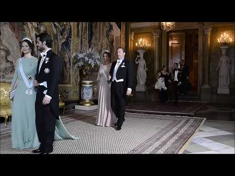 Swedish Royal Family attends King's Dinner for Nobel Laureates
