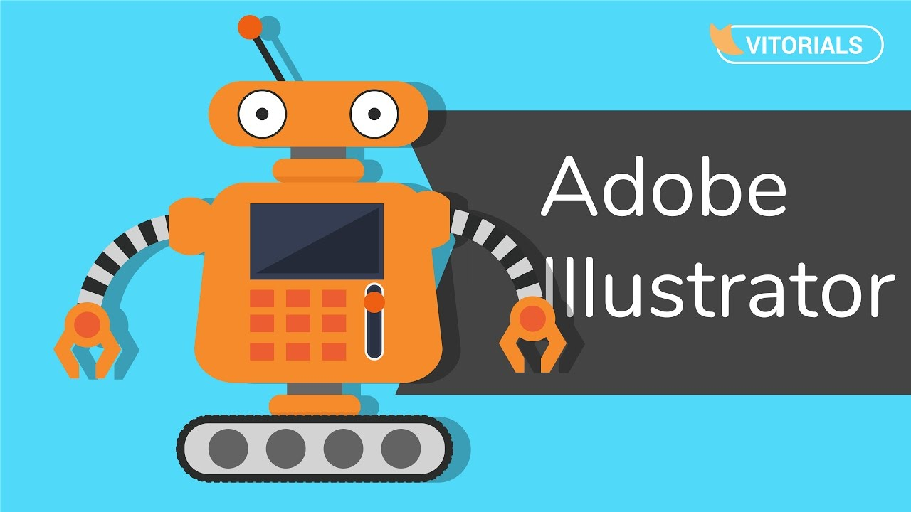 Adobe illustrator tutorial: fighting robots youtube.