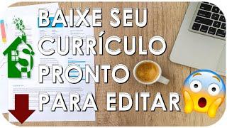 ✅ BAIXE SEU CURRÍCULO PRONTO PARA EDITAR [ ATUALIZADO 2020-2021 ]✅ screenshot 4