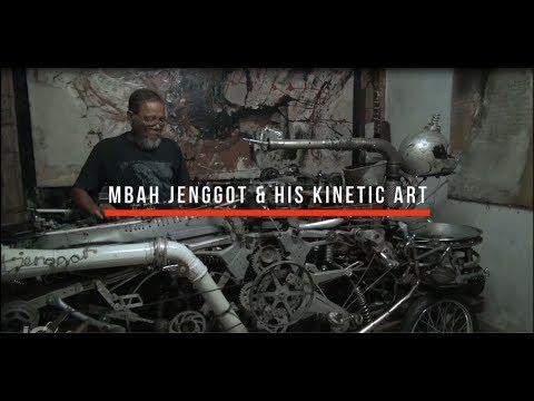 Mbah Jenggot & His Kinetic Art