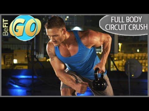 Body Circuit Crush Workout: 15 Min Fat Loss- BeFiT GO