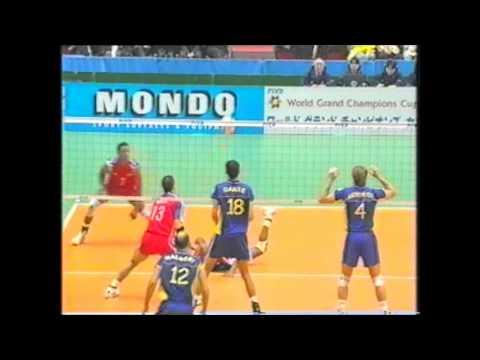 Cuba v Brazil 23/11/2001 World Grand Champions Cup
